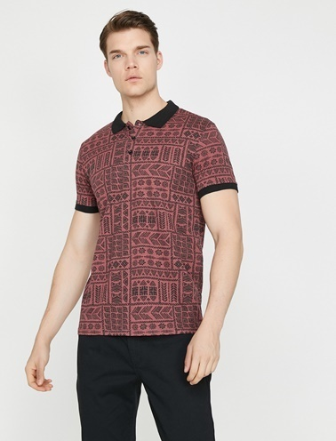 Koton Polo Yaka T-Shirt Kırmızı